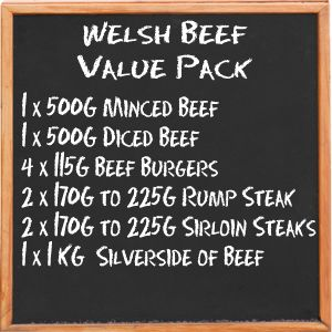 Welsh Beef Value Pack