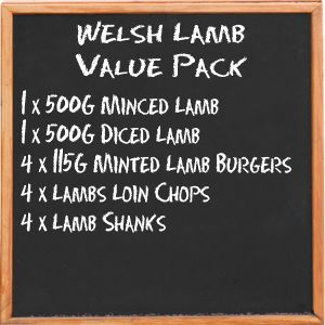 Welsh Lamb Value Pack